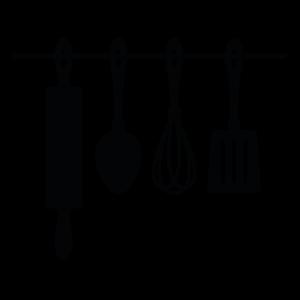muurstickers-keuken-keukengerei
