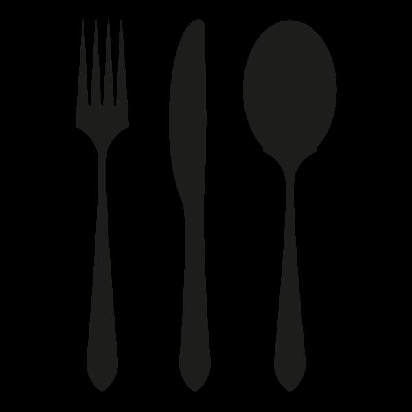 muurstickers-keuken-bestek