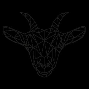 muurstickers-geometrische-dieren-bok