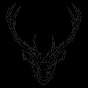 muurstickers-geometrische-dieren-hert