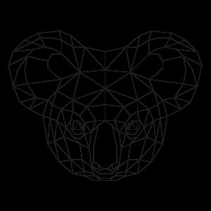 muurstickers-geometrische-dieren-koala
