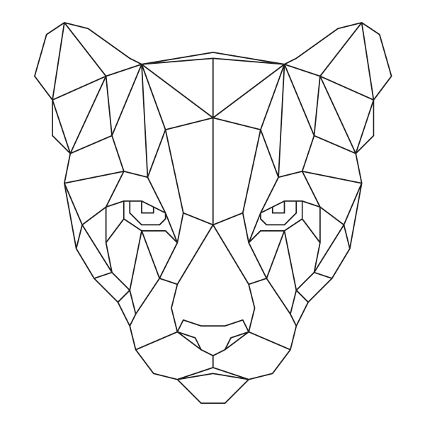 muurstickers-geometrische-dieren-leeuwin