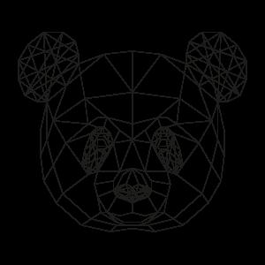 muurstickers-geometrische-dieren-pandabeer