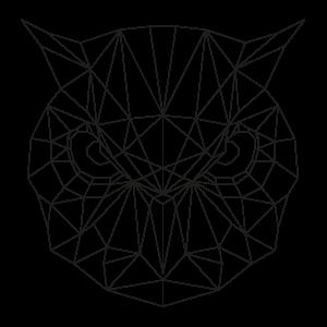 muurstickers-geometrische-dieren-uil