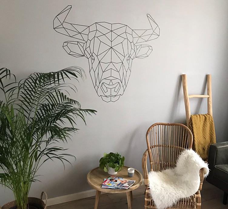 muurstickers-geometrische-dieren